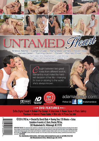 Untamed Heart (2014) free large back cover