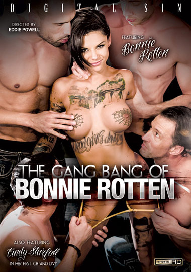 The Gang Bang Of Bonnie Rotten (2013) free large front cover