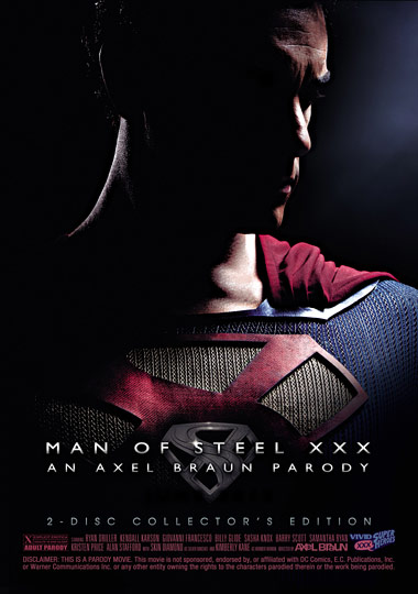 Man of Steel XXX: An Axel Braun Parody (2013) free large front cover