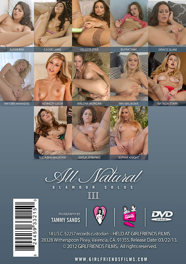 All Natural Glamour Solos 3 (2013) free large back cover