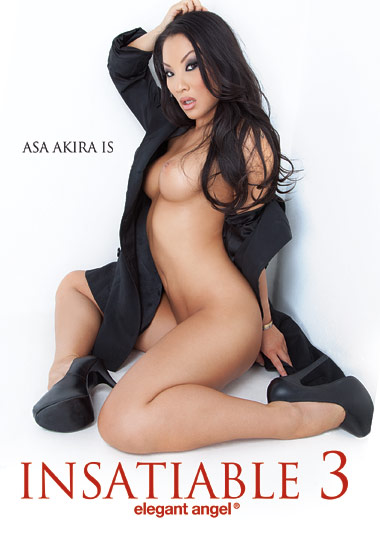 Asa Akira Is Insatiable 3 (2012) free large front cover