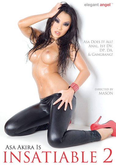 Asa Akira Is Insatiable 2 (2011) free large front cover