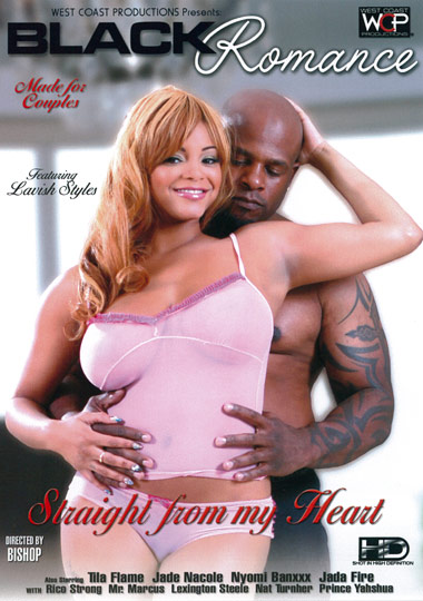 Black Romance: Straight From My Heart (2012) free large front cover