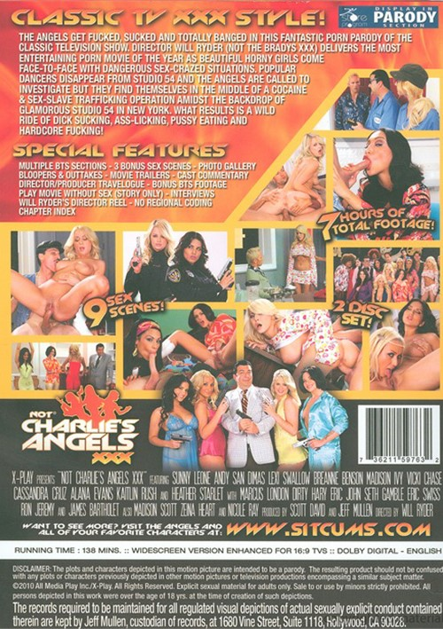 Not Charlie's Angels XXX (2010) free large back cover
