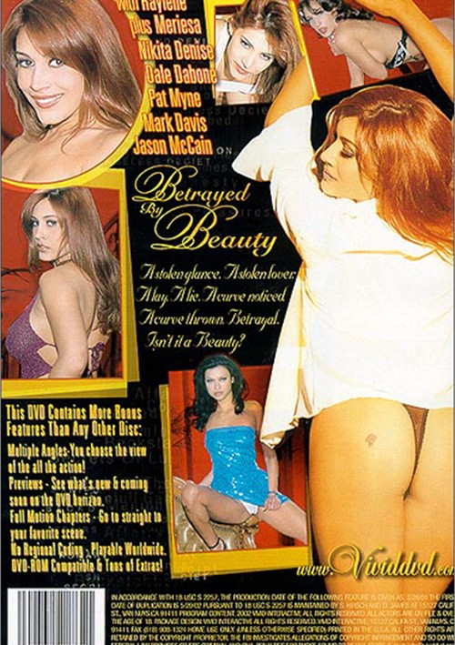 Betrayed By Beauty (2002) free large back cover